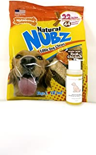 Best nylabone natural medium nubz chicken flavored 12ct Reviews
