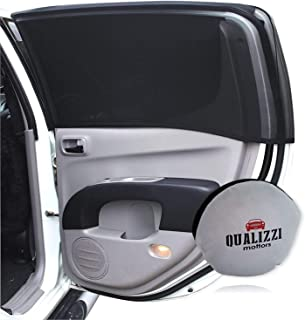 """XXL-Size/Car Window Sun Shades for SUVs up to 46-51"""" x 23-25"""" for Side Windows Sun Protection for Baby. Window Socks (2-Pack)"""
