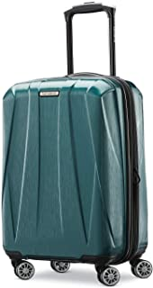 Samsonite Centric 2 Hardside Expandable Luggage with Spinner Wheels, Emerald Green, Carry-On 20-Inch