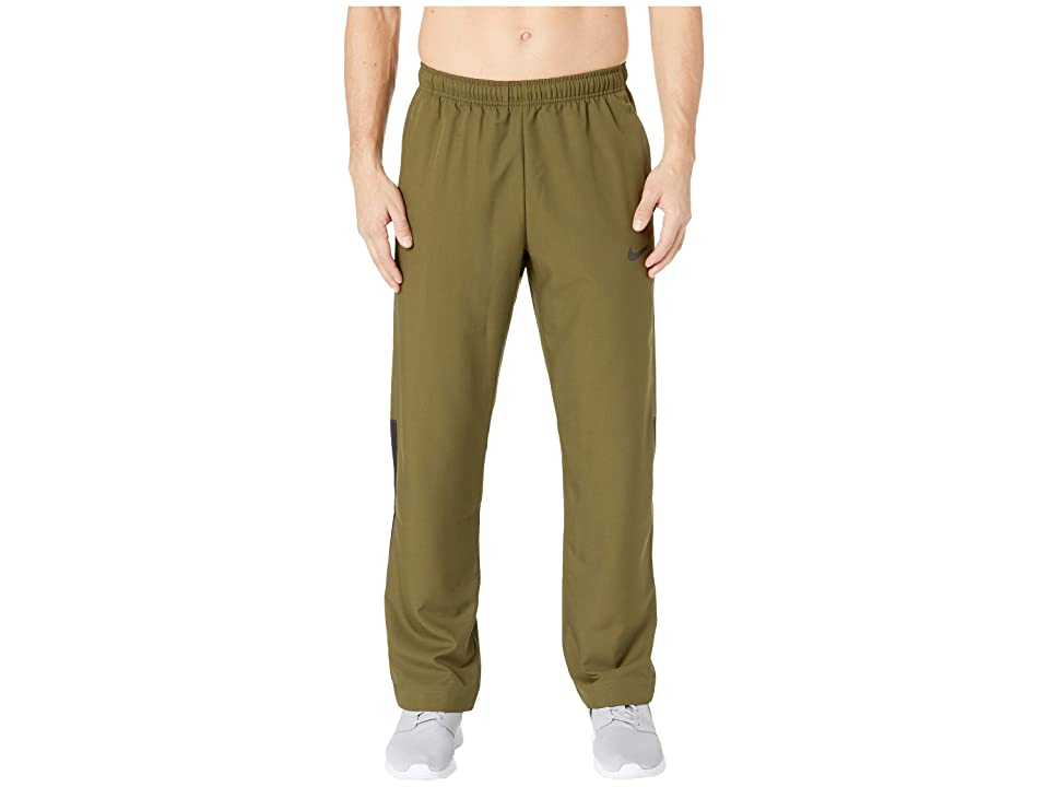 Nike Dry Pants Team Woven (Olive Canvas/Black/Black) Men