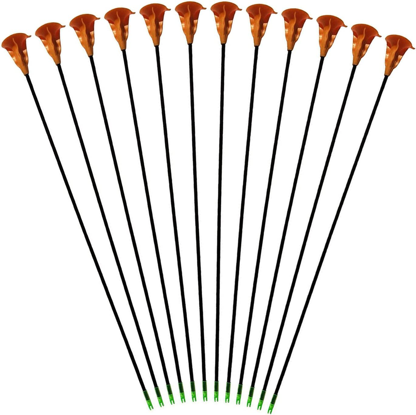 Sucker Cheap Arrows Free shipping anywhere in the nation Childrens 12pack Kids Youth Safe Archery Hunting G