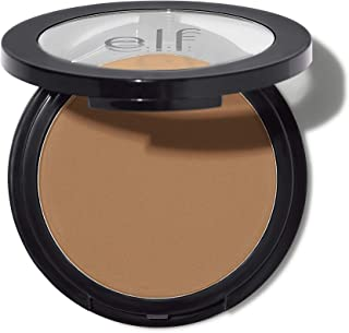 e.l.f, Primer-infused Bronzer, Long-Wear, Matte, Bold, Lightweight, Blends Easily, Contours Cheeks, Forever Sun Kissed, All-Day Wear, 0.35 Oz