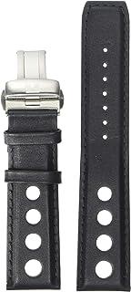 Tissot unisex-adult Leather Calfskin Watch Strap Black T600038130