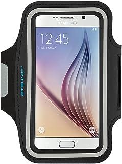 Noir Brassard de Sport pour Samsung Galaxy S7 S6 Edge A3 J3 2016 J3 2017 Universel Brassard de Course Randonn/ée pour Sony Xperia X F5121 Fente pour Carte /& Bande R/églable
