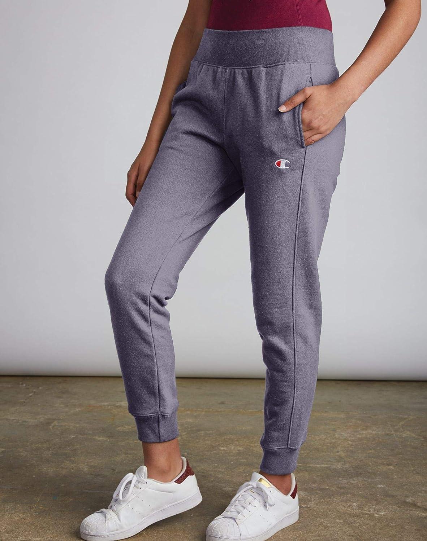 Champion Womens Garment Dye Reverse Weave Jogger Sweatpants