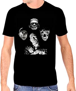 Universal Monsters Men's Horror Band T-Shirt