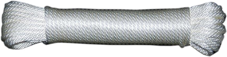 T.W Evans Cordage 44-083 1/4-Inch Solid Braid Nylon Rope 50-Feet Hank