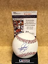 Rickie Fowler Champion Golfer Nationals Signed Baseball R61001 - JSA Certified - Golf Autographed Miscellaneous Items