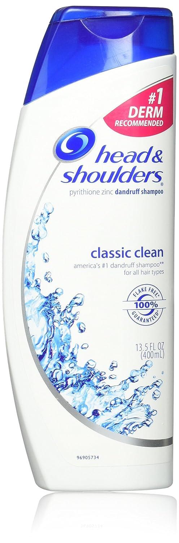 Head Shoulders Classic 5 popular Clean Dandruff Shampoo Oz Pack of Popular brand 13.5