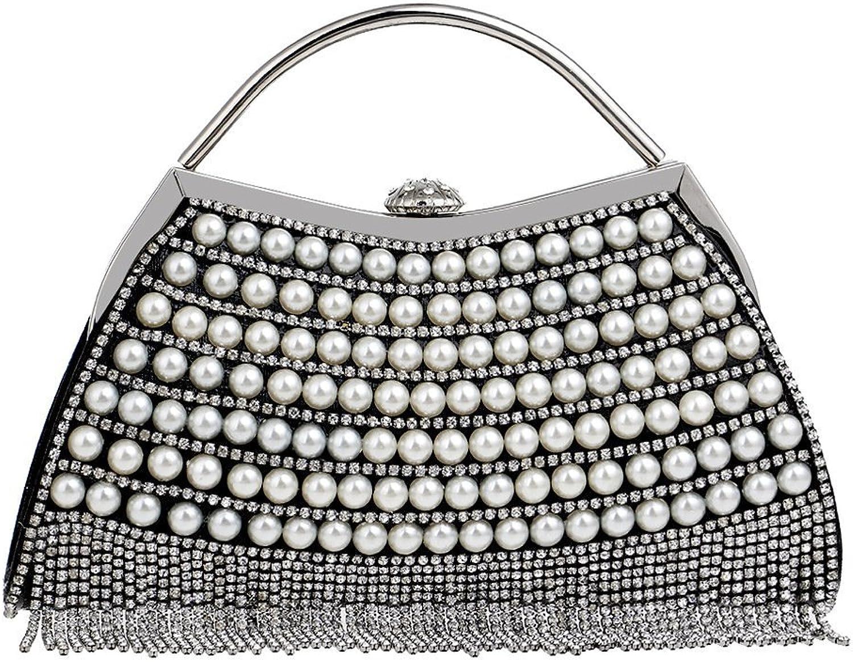 Braut-accessoires Damen Handtasche Clutch Bag Abendtasche Kettentasc Unterarmtasche Party Hochzeit Um Der Bequemlichkeit Des Volkes Zu Entsprechen