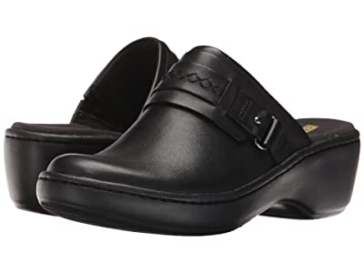 Clarks Delana Amber (Black Leather) Women