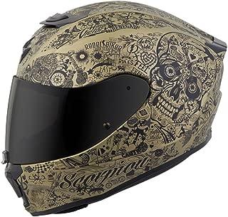 Scorpion Unisex-Adult Full-face-Helmet-Style Shake (Gold, Large)