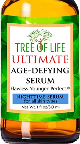 Nighttime Serum - 20% Vitamin C, Clinical Strength Retinol, Niacinamide, Hyaluronic Acid, Msm And Salicylic Acid - Th...