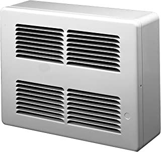 KING SL2422 Slim Line Surface Mounted Wall Heater, 240-Volt, White