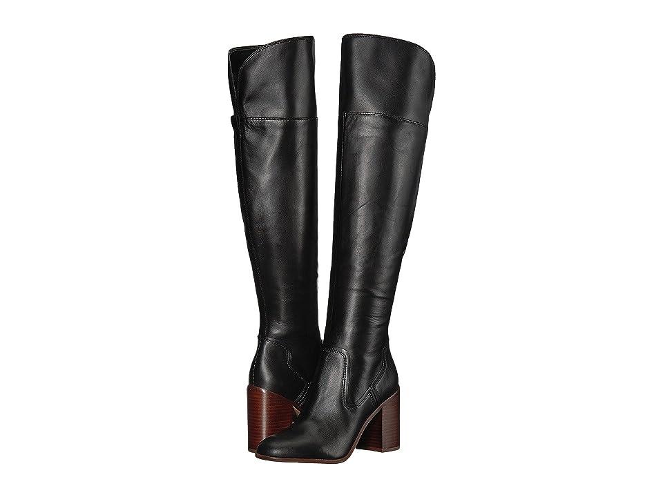 Franco Sarto Freda (Black Bally Leather) Women