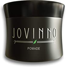 Jovinno Natural Premium Hair Styling Pomade/Hair Wax – Medium to Strong Hold Clear..
