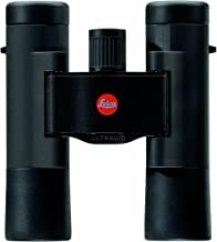 Leica Ultravid BR 10x25 Compact Binocular with AquaDura Lens Coating, Black