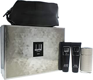 Dunhill (DUO1Z) Icon Eau de Perfume Spray 4 Piece Gift Set for Men, Pack of 4
