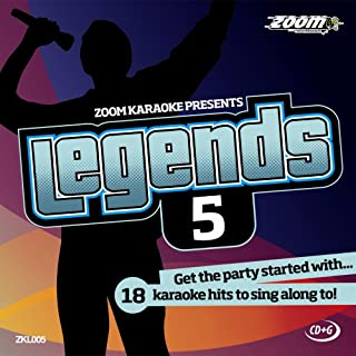 Zoom G - Legends Volume 5 - Elton John/Billy Joel/Rod Stewart/Barry Manilow Card Wallet