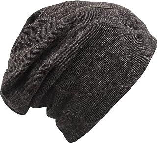 MAGARROW Men's Women's Cotton Beanie Cap Winter Wool Warm Hat Daily Slouchy Chic Hat