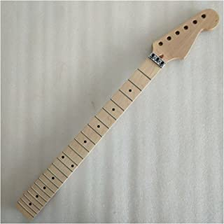 GUITAR NECK الغيتار الكهربائي الرقبة القيقب 22 الحنق القيقب الأصابع قفل الملمع الجوز