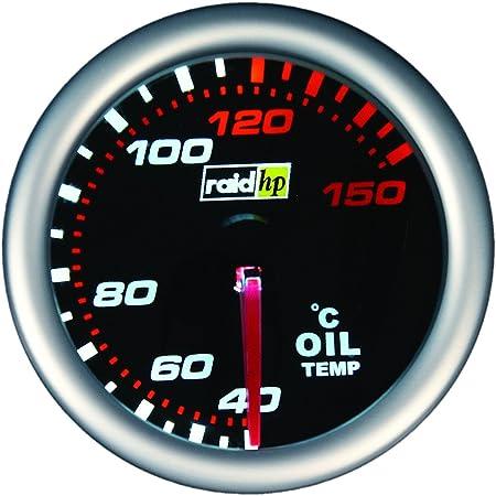 Raid Hp 660242 Zusatzinstrument Öltemperaturanzeige Night Flight Auto