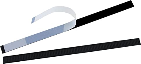 AwePackage Peel-and-Stick Tin Tie - 5-1/2 inch (Black, 100)