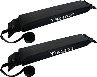 Barras portaequipajes de Frostfire, blandas, universales, para el coche