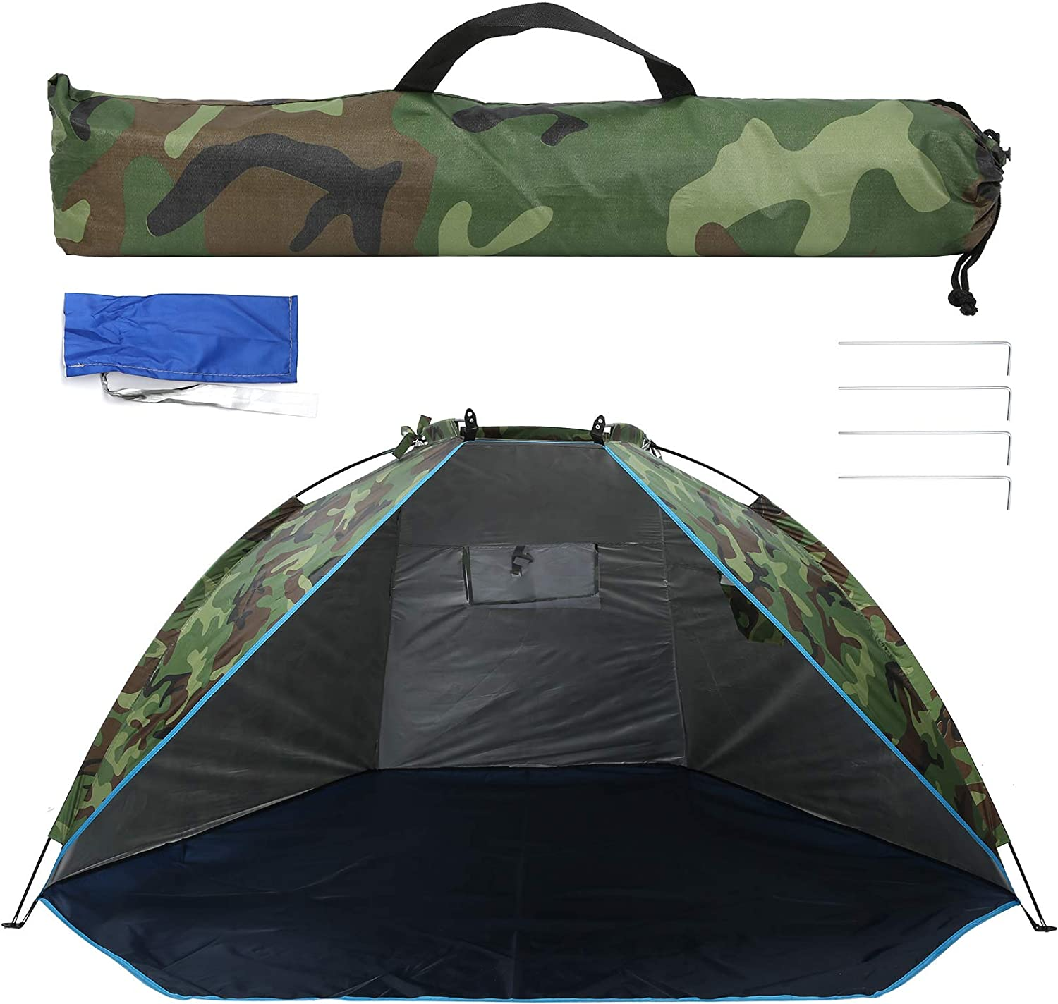 NEW Fishing Tent Outdoor Shelter Deluxe Camouflage Portable Su