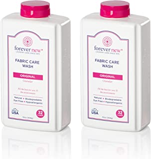 Forever New 32oz Granular Fabric Care Wash 2 Pack (64oz Total) Natural Laundry Detergent