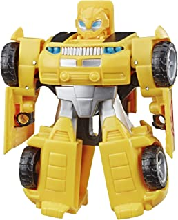 Transformers Playskool Heroes Rescue Bots Academy Bumblebee Converting Toy Robot, 4.5