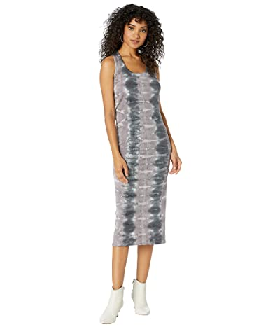 Young Fabulous & Broke Denny Dress (Amethyst Ikat Wash) Women