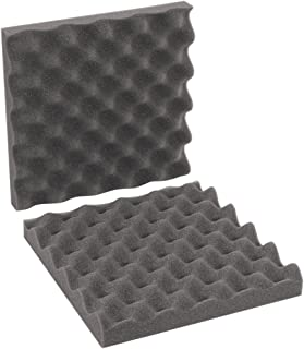 6 x 6 x 2 Charcoal Pack of 64 Sets 6 x 6 x 2 BOX USA BFCSC662 Convoluted Foam Sets