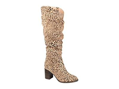 Journee Collection Aneil Boot Extra Wide Calf (Leopard) Women