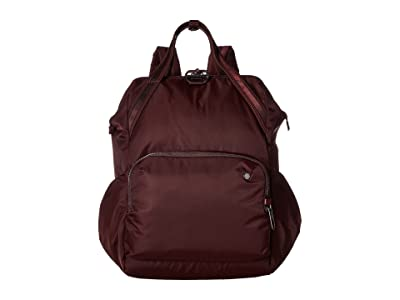 Pacsafe Citysafe CX Anti-Theft 17L Backpack (Merlot) Backpack Bags