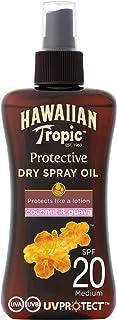 Hawaiian Tropic Protective Aceite Seco Bronceador SPF 20 con