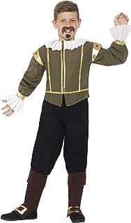 Smiffys Shakespeare Costume, Multi-Colour, M, 44077M
