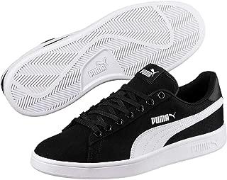 Puma Smash V2 Cv Sports Sneakers for Men - Black/White 43 EU (10 US / 9 UK)