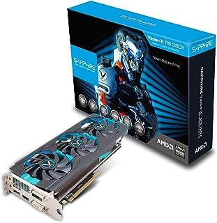 Sapphire 11221-20-20G Radeon R9 280X 3GB GDDR5 - Tarjeta gráfica (Radeon R9 280X, 3 GB, GDDR5, 384 bit, 6200 MHz, PCI Express 3.0)