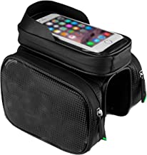 Bicycle Bag Phone Touch Screen Rainproof Top Tube Bags Mtb Cycling Frame Front Head Pannier Bike Accessories,Comet,M