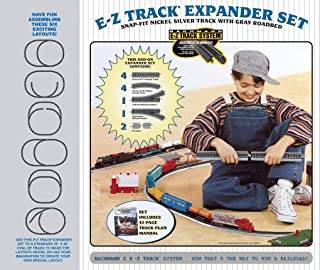 Bachmann Trains Snap-Fit E-Z TRACK LAYOUT EXPANDER SET - NICKEL SILVER Rail With Grey Roadbed - HO Scale