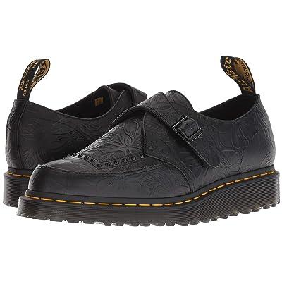 Dr. Martens Ramsey II (Black Floral Emboss) Shoes