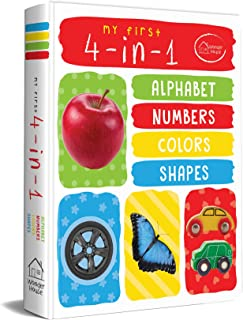 My First 4 In 1 Alphabet Numbers Colours Shapes