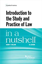 Introduction to the Study and Practice of Law in a Nutshell (Nutshells)