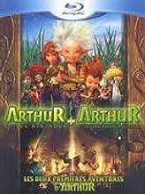 Arthur et les Minimoys + Arthur et la vengeance de Maltazard - Coffret 2 Blu-ray - Incluses les premières images du 3e vol...