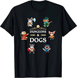 Sponsored Ad - Dungeons and Dogs RPG D20 Roleplaying Tabletop Gamers Gift T-Shirt
