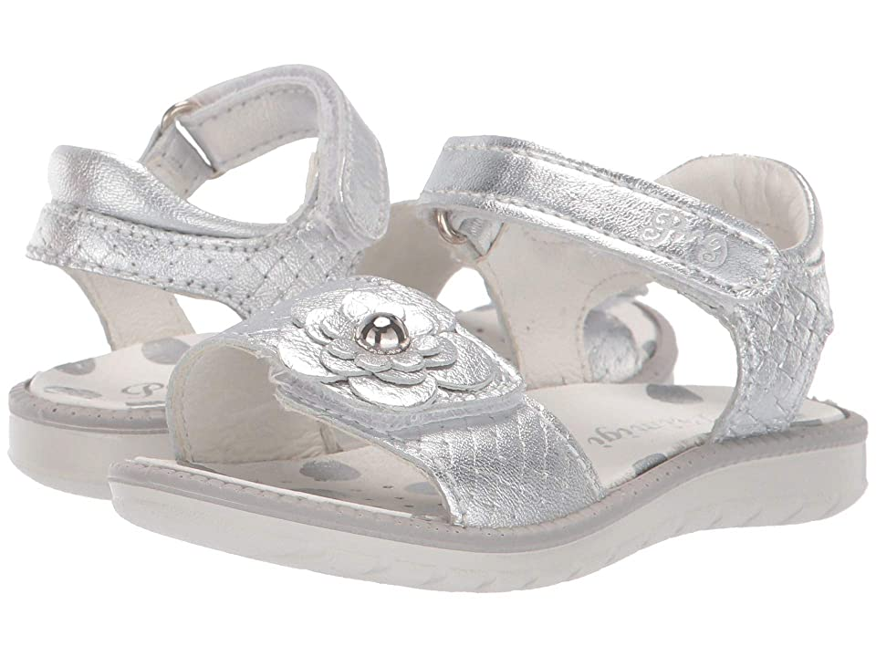 Primigi Kids PAL 33899 (Toddler/Little Kid) (Silver) Girls Shoes