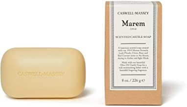 product image for Caswell-Massey Marem Oversized Saddle Castile Soap Bar – Natural Bath Soap With A Lush Floral Fragrance – 8 Oz