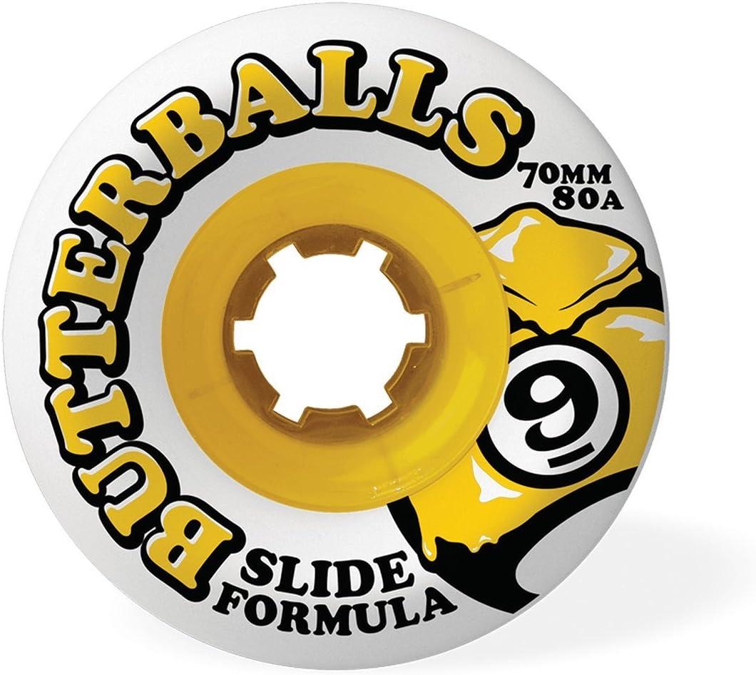 Sector 9 Slide Butterballs Skate Wheels Set of 4