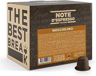 Note d'Espresso - Noisette - Capsules Exclusivement Compatibles avec Machine NESPRESSO* - 100 x 7 g